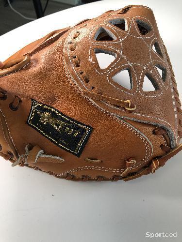 Baseball - Gants en cuir, Sport Otto, taille unique pour enfant