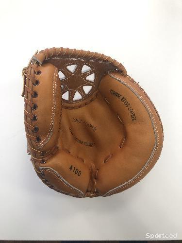 Sport Otto - Gants de baseball en cuir, taille unique pour enfant